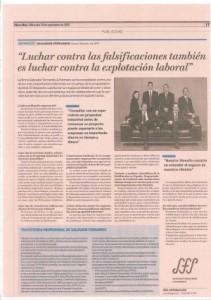 Entrevista Salvador Ferrandis Cinco Días