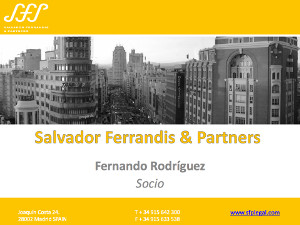 """Fernando Rodriguez's presentation on """"Customs Control System against Counterfeited Products"""""""